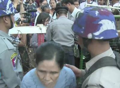 News video: Myanmar Charges 69 Protesters With Rioting After Police Crackdown